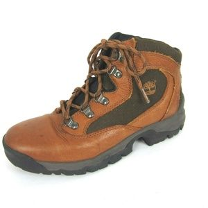 Timberland Mid Hiking Boots Women's 8.5 Brown